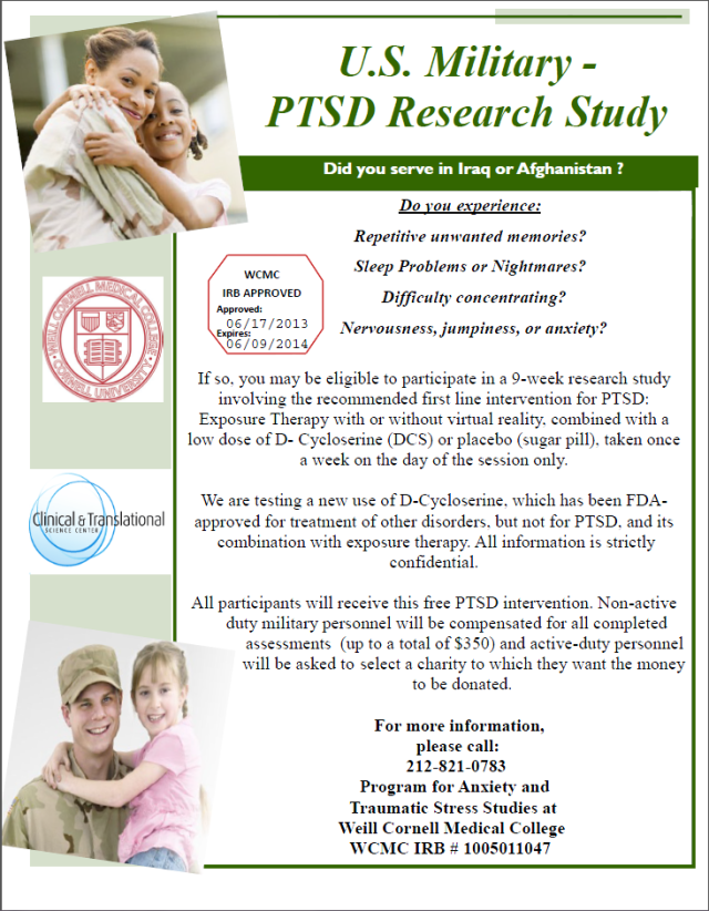 PTSD Research Study