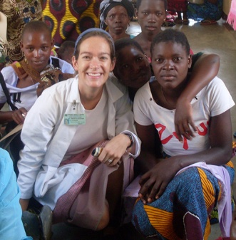 Jennifer Downs, MD, MSc, works with communities in Africa to improve health and reduce the risk for HIV infection. Photo source