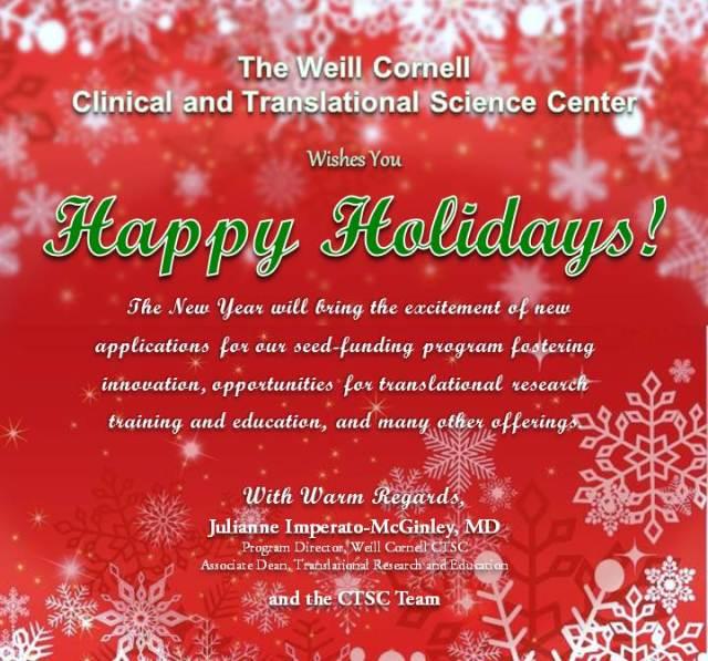 CTSC Happy Holidays 2014